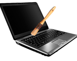 Своевременная чистка ноутбука от пыли