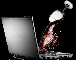 Что делать при заливании ноутбука жидкостью